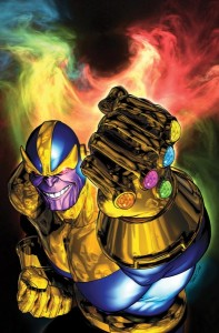 Thanos Infinity Gauntlet photo Marvel Comics