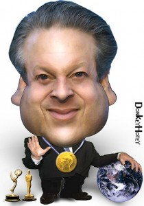 Al Gore: the poster boy for environmental issues, photo donkeyhotey  donkeyhotey.wordpress.com