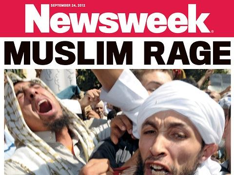 Newsweek Muslim Rage cover