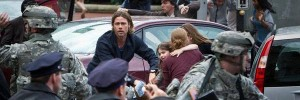 Brad Pitt World War Z zombie photo