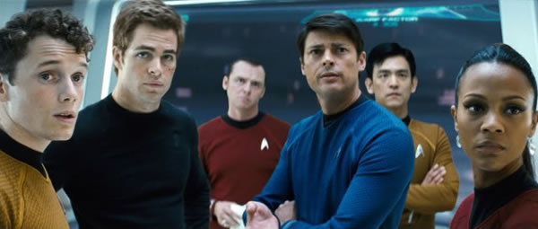 Star Trek cast crew photo