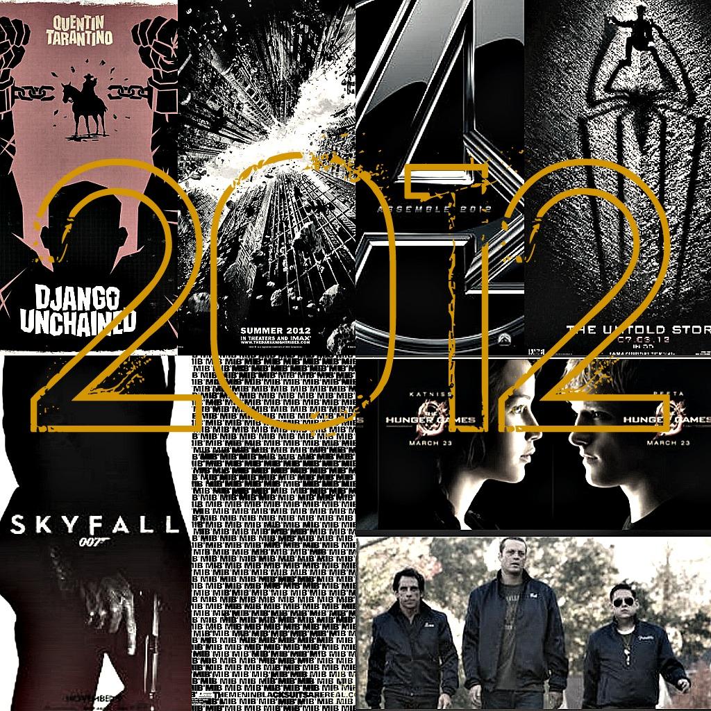 2012 Movie collage