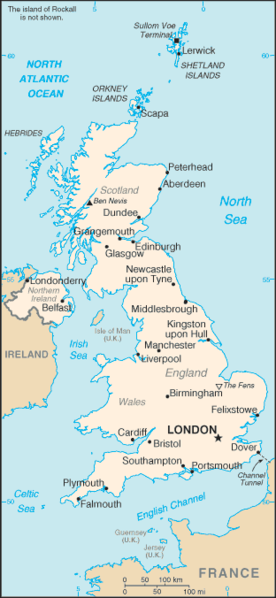 England, Wales