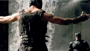 Bane vs batman Dark Knight Rises photo