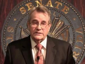 Florida State Senator Don Gaetz, photo screenshot 2011 video