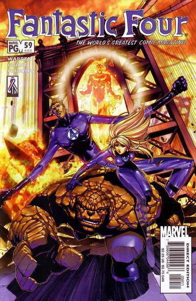 Marvel Comics  (Fantastic Four v3 #59)