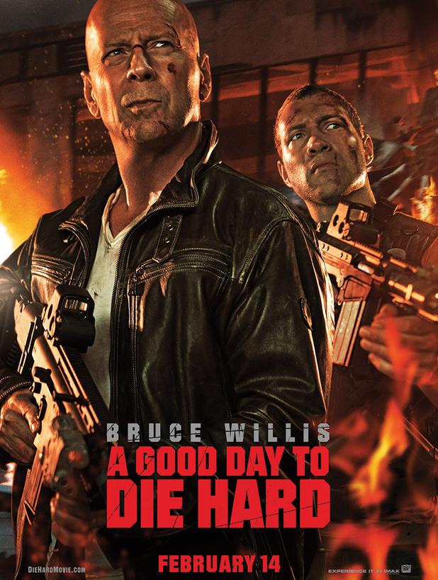 Good Day to Die Hard poster Bruce Willis Jai Courtney