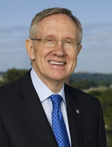 Harry Reid says the Senate should discuss gun laws following the tragedy in Newtown, Connecticut.