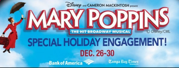 From the countless holiday musical adaptations, like this one at the Straz Center in Tampa, Mary Poppins will now arrive in a new film