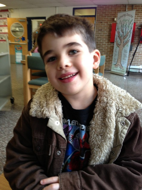 Noah Pozner, This November 13, 2012 photo was provided by the family