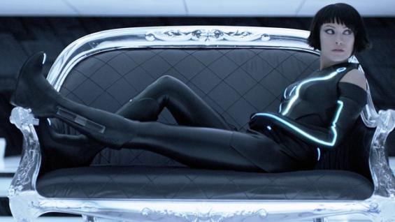 "Olivia Wilde as Quorra in ""Tron: Legacy"""