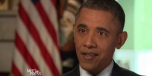President Obama on Meet the Press