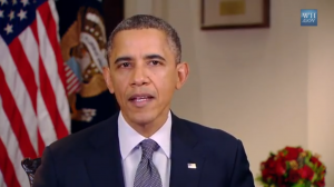 President Obama weekly address Dec 15 Connecticut shooting