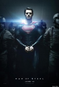 Superman Man of Steel poster Henry Cavill handcuffs