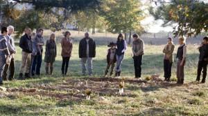 Walking Dead season 2 funeral photo cast