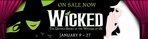 Wicked Straz Center banner