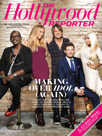 American Idol season 12 Hollywood reporter magazine