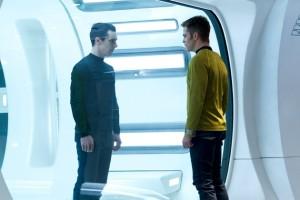Benedict Cumberbatch Chris Pine Star Trek Into Darkness photo