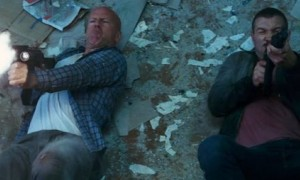 Bruce Willis Jai Courtney Good Day to Die Hard photo