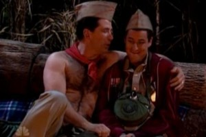 The Canteen Boy sketch on SNL served as a parody of the Boy Scouts ban on gays in the organization.