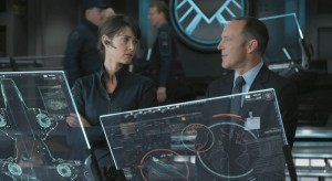 Cobie-Smulders-The-Avengers-Maria-Hill Clark Gregg Coulson photo