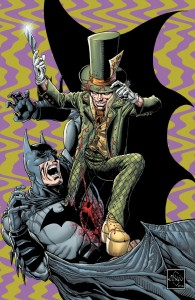 Dark Knight comic book 16 Mad Hatter cover