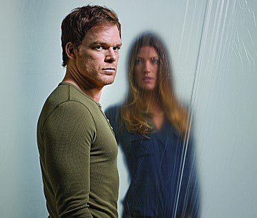 Dexter Michael C Hall Jennifer Carpenter photo