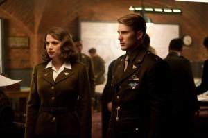 Hayley Atwell Chris Evans Captain America photo