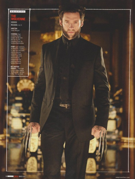 Hugh Jackman as Logan The Wolverine Empire mag