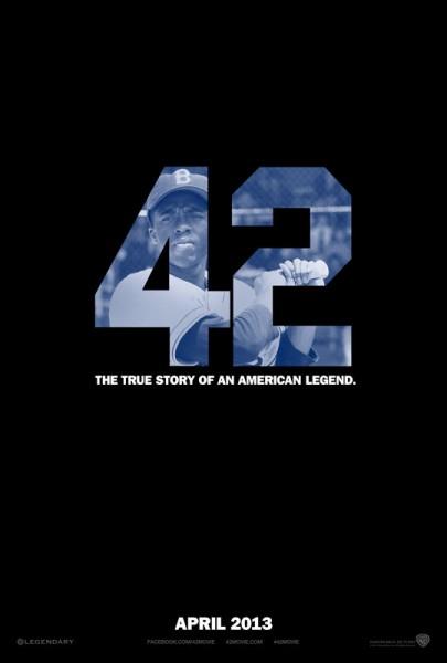 Jackie Robinson bio 42 movie poster