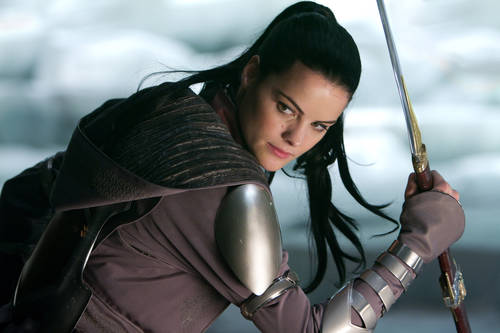 "Jaimie Alexander as Sif in ""Thor"""
