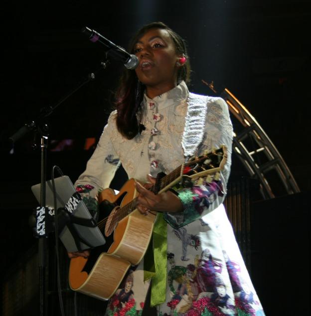 Jamie Grace performing Winter Jam 2013