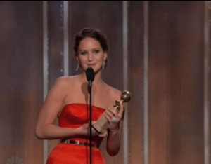Jennifer Lawrence Golden Globe