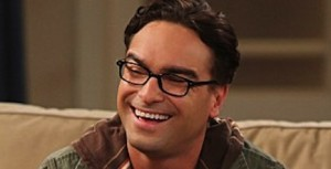 Johnny Galecki as Leonard_Hofstadters smiling photo