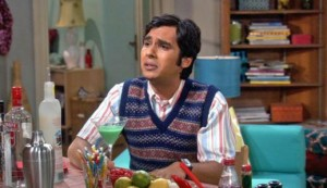 Kunal Nayyar as Raj