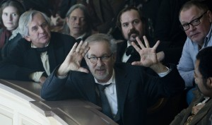Lincoln-Spielberg-on-set