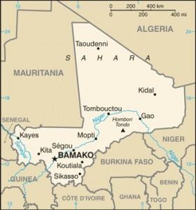 Mali  Image/CIA
