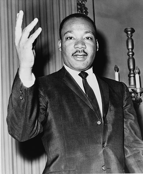 Martin Luther King, Jr. 1964 Dick DeMarsico, World Telegram staff photographer public domain/Library of Congress