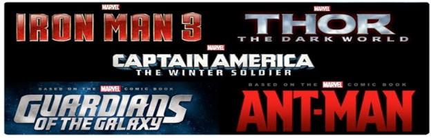 Marvel Phase 2 movie banner