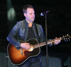 Matthew West performing at Winter Jam, Tampa 2013  photo Brandon Jones