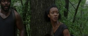 "Sonequa Martin-Green is one of the stars who will become a regular in season 4 of ""The Walking Dead"""