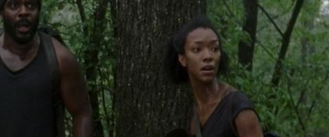 Sonequa Martin-Green Walking Dead photo