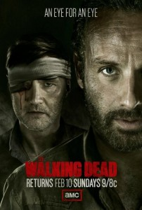 "Trailer for the return of ""Walking Dead"""