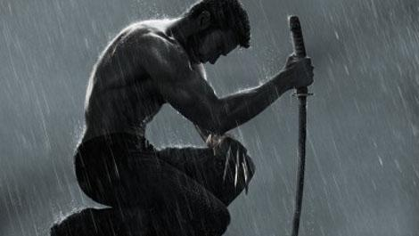 The Wolverine rain motion poster banner photo