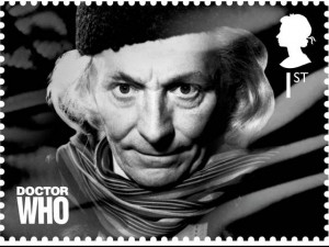 "William Hartnell ""Doctor Who"" postage stamp, photo supplied Royal Mail"