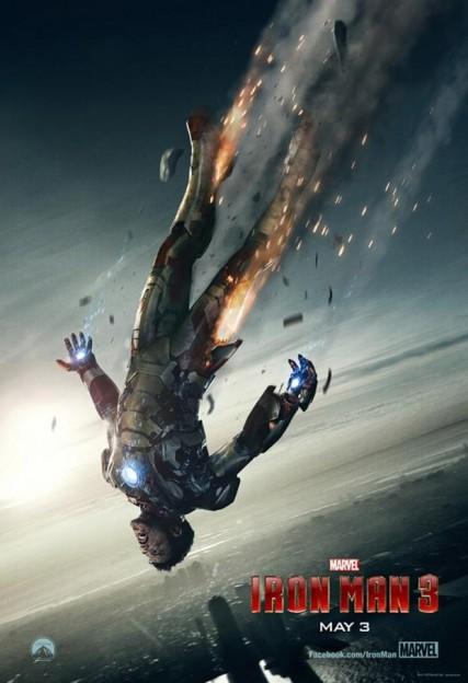 iron_man_3 poster falling