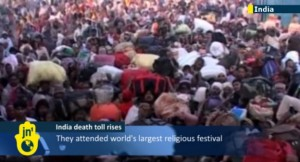 India death toll stampede Hindu festival