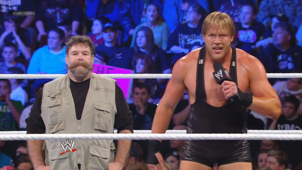 Jack Swagger Zeb Colter racist Tea party WWE character
