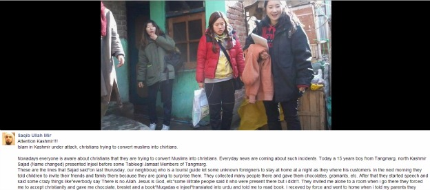 Korean tourists attacked in India convert Muslim to Christianity