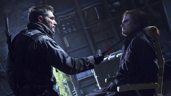 Manu Bennett as Deathstroke - Slade Wilson